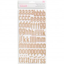 Crate Paper Maggie Holmes Chasing Dreams Glitter Foam Letter Thickers 375956