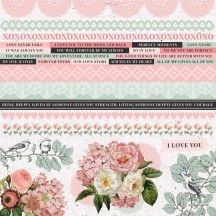 "Kaisercraft Everlasting 12""x12"" Sticker Sheet SS376"