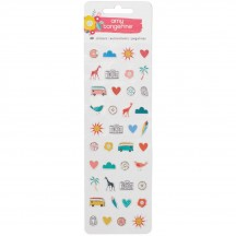 American Crafts Amy Tangerine Oh Happy Life Puffy Stickers 376238