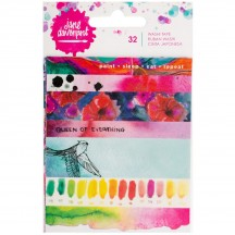 Jane Davenport Mixed Media Paint Phrases Washi Tape Book 376681
