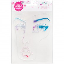 Jane Davenport Mixed Media Single Face Clear Stamp 376687