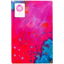 "Jane Davenport Mixed Media 9""x6"" Bright Abstract Print Journal 376705"