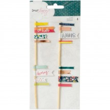 American Crafts Dear Lizzy Lovely Day Flags 376959