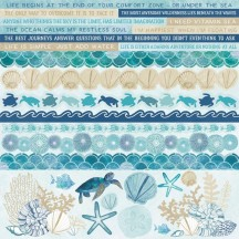 "Kaisercraft Deep Sea 12""x12"" Sticker Sheet SS377"
