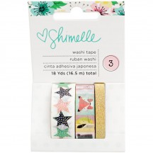 American Crafts Shimelle Little By Little Washi Tape Rolls 378365