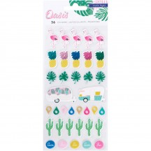 Crate Paper Oasis Puffy Accent Stickers 378996