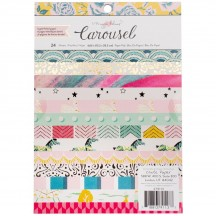 "Crate Paper Maggie Holmes Carousel 6""x8"" Paper Pad 24 Sheets 379113"