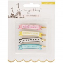 Crate Paper Maggie Holmes Carousel Banner Clips 379125