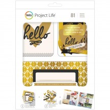 Becky Higgins Project Life Be Fearless Value Pack Cards Kit 380552