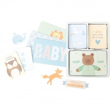 Becky Higgins Project Life Value Pack Cards - Lullaby Boy 380808