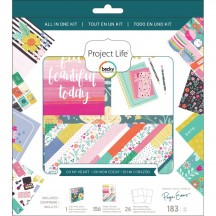 Becky Higgins Project Life All In One Kit - Paige Evans Oh My Heart 380852