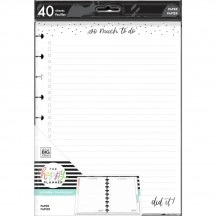 Me & My Big Ideas CLASSIC Happy Planner Everyday Checklist Fill Paper APCFP40-053