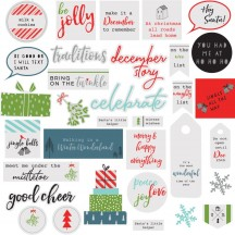 Pinkfresh Studio Oh Joy Die-Cut Christmas Acetate Pieces PFRC400416