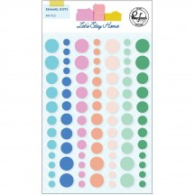 Pinkfresh Studio Let's Stay Home Enamel Dots PFRC401120