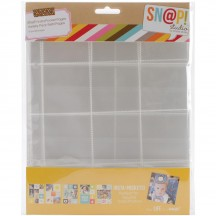"Simple Stories Snap Insta-Pocket 6""x8"" Page Protectors - Variety Pack 4074"
