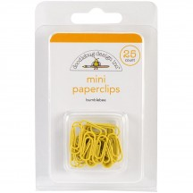 Doodlebug Bumblebee Yellow Mini Paperclips 4499