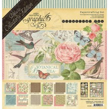 Graphic 45 Papercrafting Botanical Tea Deluxe Collectors Edition Pack 4501684