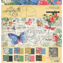 "Graphic 45 Flutter 12""x12"" Collection Pack 4501776"