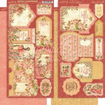 Graphic 45 Princess Double-Sided Cardstock Tags and Pockets 4501802