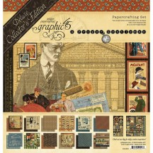 Graphic 45 A Proper Gentleman Deluxe Collectors Edition Pack 4501806
