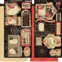 Graphic 45 Love Notes Double-Sided Cardstock Tags and Pockets 4501831