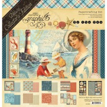Graphic 45 By The Sea Deluxe Collectors Edition Pack 4501832