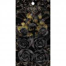 Graphic 45 Rose Bouquet Collection Photogenic Black 4501979