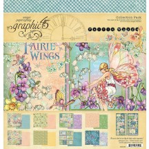 "Graphic 45 Fairie Wings 12""x12"" Collection Pack 4502083"