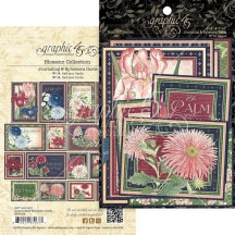 Graphic 45 Blossom Journaling & Ephemera Cards 4502164