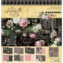 "Graphic 45 Elegance 12""x12"" Collection Pack 4502195"