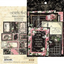 Graphic 45 Elegance Journaling & Ephemera Cards 4502199