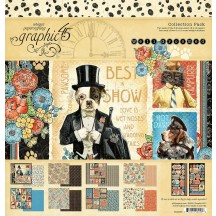 """Graphic 45 Well Groomed 12""""x12"""" Collection Pack 4502266"""