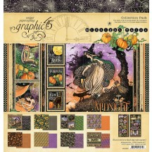 """Graphic 45 Midnight Tales 12""""x12"""" Collection Pack 4502283"""