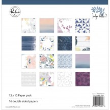 "Pinkfresh Studio Indigo Hills 2 12""x12"" Collection Kit PFRC500117"