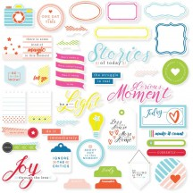 Pinkfresh Studio The Mix No. 1 Die-Cut Cardstock Pieces PFRC500616