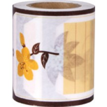 Rico Design My MeMo Floral Label Extra Wide Washi Tape 50070.10.34