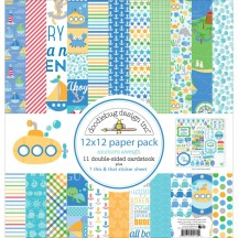 "Doodlebug Anchors Aweigh 12""x12"" Paper Pack 5134"