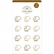 Doodlebug Puppy Love Puppies Cute Paper Clips 5241