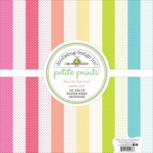 "Doodlebug Petite Prints Swiss Fun In The Sun 12""x12"" Paper Pack 5288"