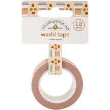 Doodlebug Cream & Sugar Coffee Break Decorative Washi Tape 5461