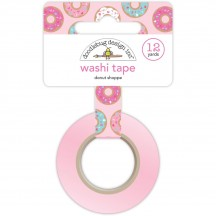 Doodlebug Cream & Sugar Donut Shoppe Decorative Washi Tape 5462
