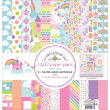 """Doodlebug Fairy Tales 12""""x12"""" Paper Pack 5677"""