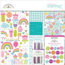 "Doodlebug Fairy Tales 12""x12"" Essentials Page Kit 5684"