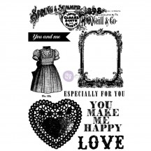Prima Marketing Anna Marie Rubber Cling Stamps 570095