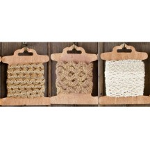 Prima Marketing Trim Three Pack - Burlap 573614
