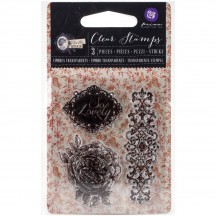 Prima Marketing Bella Rouge So Lovely Clear Mini Stamp Set 579197