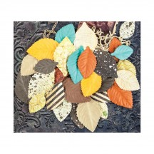Prima Marketing Timeless Memories Impression Flower Collection Leaves 580896