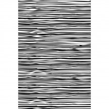 """Prima Marketing Wood Lines Background 4""""x6"""" Cling Rubber Stamp 582708"""