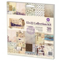 "Prima Marketing French Riviera 12""x12"" Collection Kit 584351"