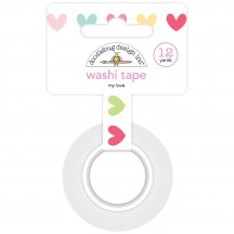 Doodlebug So Punny My Love Decorative Washi Tape 5884